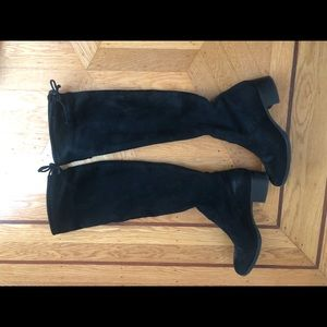 Zara over the knee black boots. Size 39